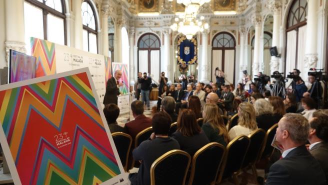 Presentación del cartel de la 23 edición del Festival de Málaga