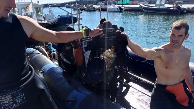 Recogida de residuos en Cabo de Palos
