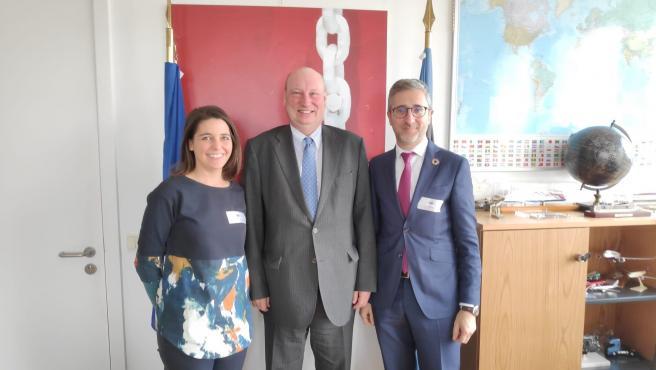 Arcadi España se reúne con el director general de Movilidad y Transporte de la Comisión Europea, Henrik Hololei