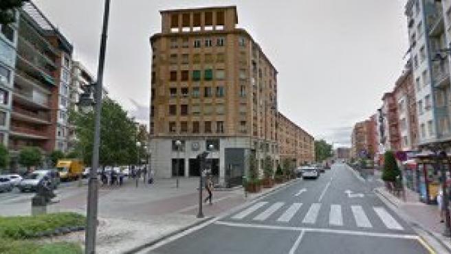 El actual edificio de la estación de autobuses