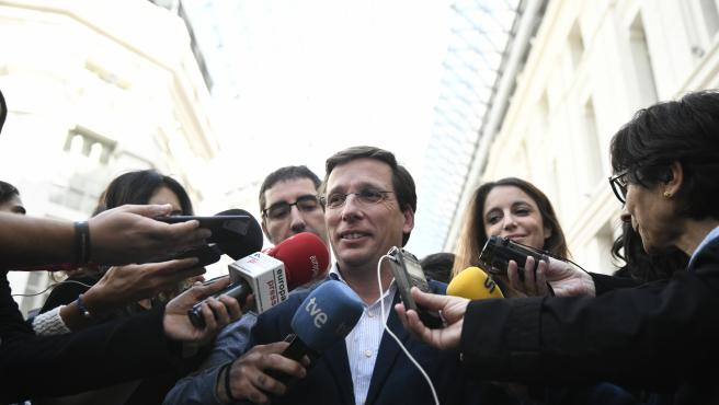 El alcalde de Madrid, José Luis Martínez-Almeida. Imagen de recurso
