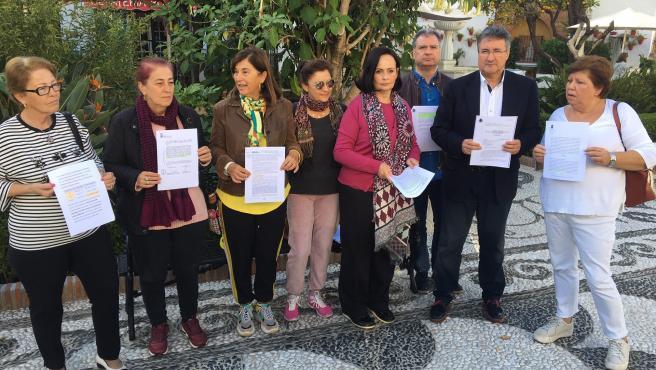 El colectivo 'Ni un metro de Marbella para otra población'