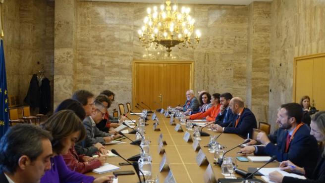 El consejero de Desarrollo Sostenible de Castilla-La Mancha, José Luis Escudero, respalda la disposición del Gobierno de la nación tras ofrecer Madrid como sede de la próxima Cumbre mundial del Clima.