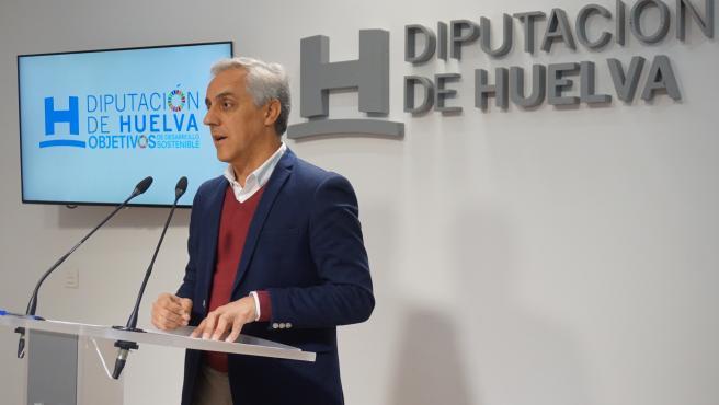 El diputado provincial de Estructura, Manuel Alfaro