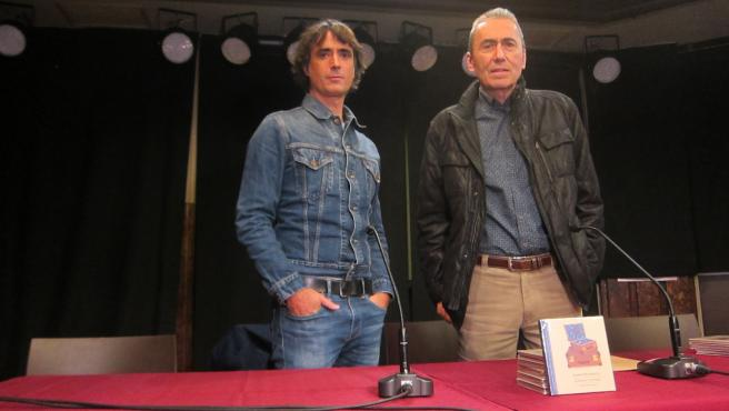 Jabier Muguruza y MIkel Azpiroz