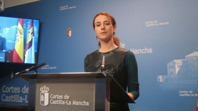 La diputada regional del PSOE Diana López