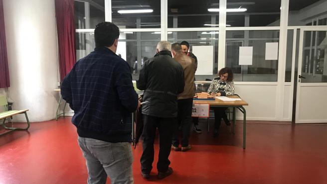 Los gallegos acuden a votar a las elecciones generales el 10 de noviembre de 2019