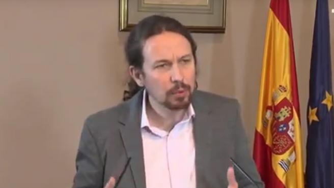 Iglesias: 'Sánchez sabe que puede contar con nuestra lealtad; vamos a buscar el apoyo de otros grupos'