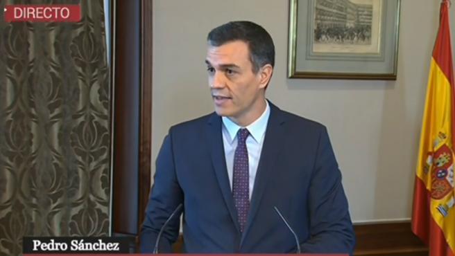 Pedro Sánchez: 'Este nuevo Gobierno va a ser rotundamente progresista'