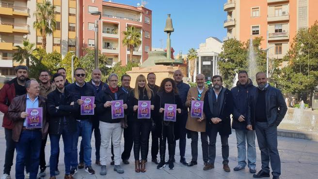 Presentación de la campaña 'Vive la Navidad en Jaén'.