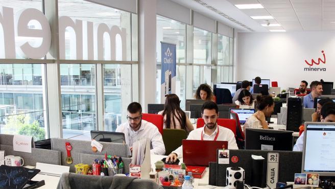 Programa Minerva, impulsado por la Consejería de Economía, Conocimiento, Empresas y Universidad.