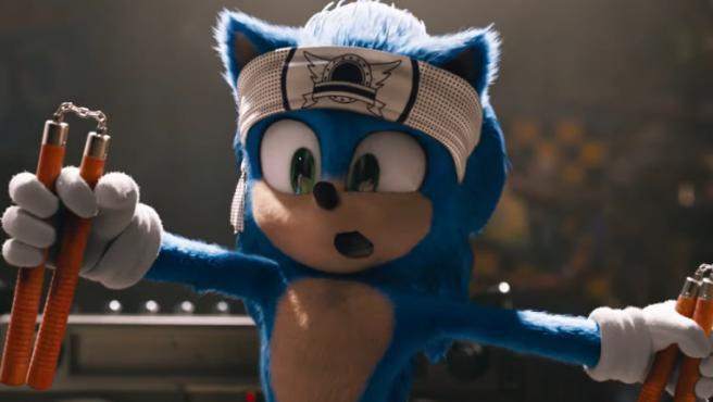 'Sonic' presume de nuevo diseño en el último tráiler de la película (pero Jim Carrey sigue robando la función)