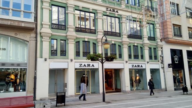 Tienda de Zara en Oviedo