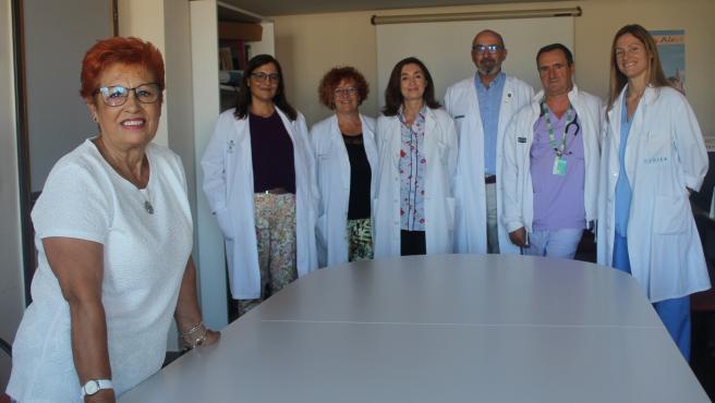 Trabajadores del Hospital General de Alicante, líder en trasplantes de riñón de donantes con anticuerpos frente al virus de la hepatitis C