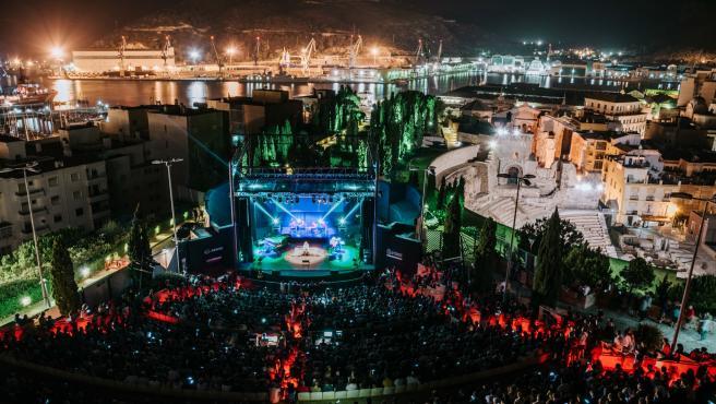 Escenario de La Mar de Músicas