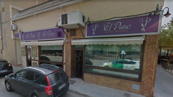 Fachada del restaurante El Paso de los Elefantes, en Murcia.