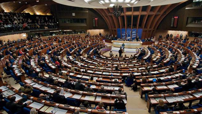 Hemiciclo del Consejo de Europa.