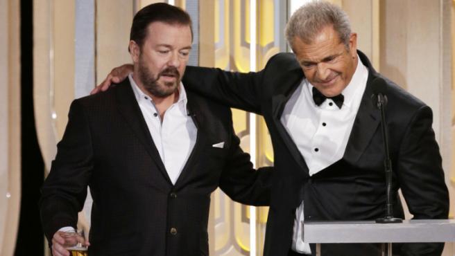 Así ha arrasado Ricky Gervais con los Globos de Oro edición tras edición