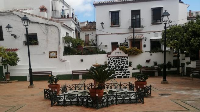 Plaza de las Flores en Rincón de la Victoria