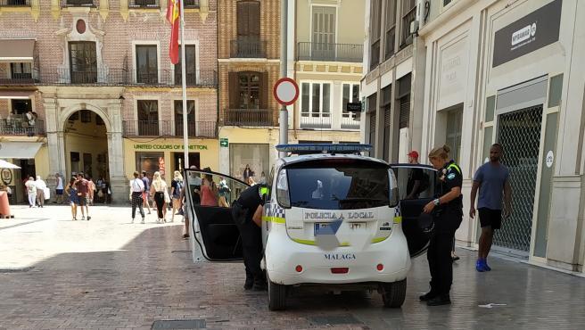 Policía local, agentes, Málaga