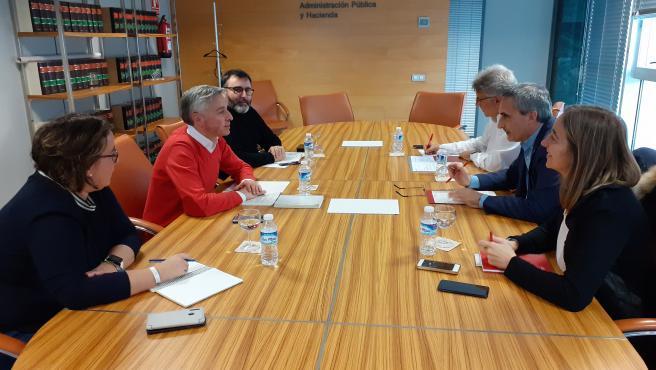 Reunión Consejería Gobernanza y Rector UR