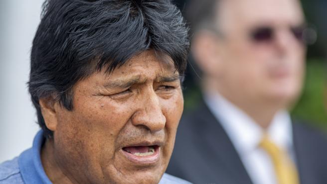Bolivian former President Evo Morales in Mexico