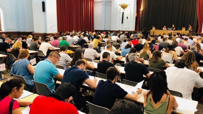 Estudiantes de la UNED Valencia en una imagen de archivo