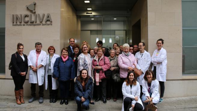 Investigadors de l'Institut d'Investigació Sanitària INCLIVA que estan abordant el neuroblastoma