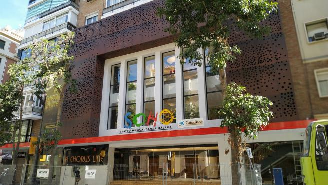 Teatro del Soho CaixaBank de Antonio Banderas en Málaga capital.