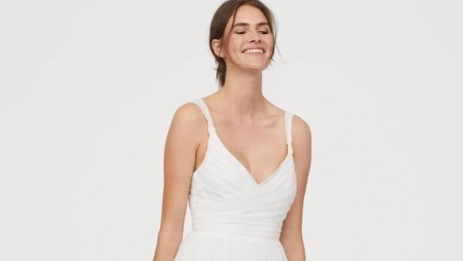 Vestido de novia de H&M.