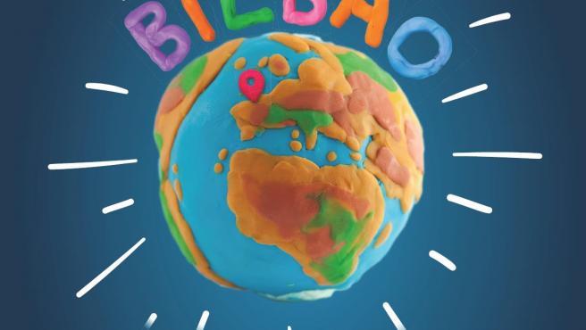 Cartel el Ayuntamiento de Bilbao con motivo del 'Día Internacional de la Infancia'.