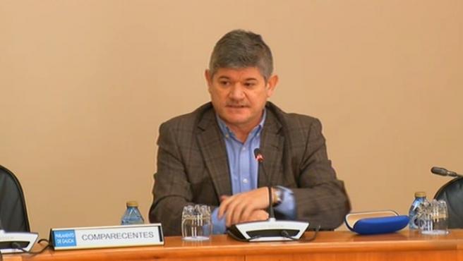 El director xeral de Planificación e Ordenación Forestal, José Luis Chan