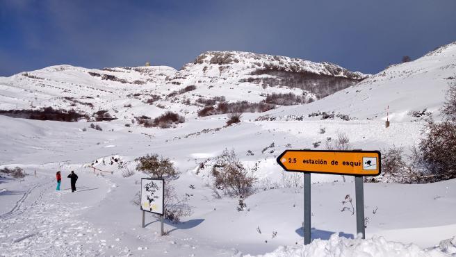 El Puerto de Lunada (Burgos), nevado. El Puerto de Lunada (Burgos), nevado. 11/14/2019
