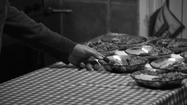 Imagen del comedor social de Es Refugi, donde 'diariamente' se atiende a unas 150 personas 'en situación de exclusión social'.