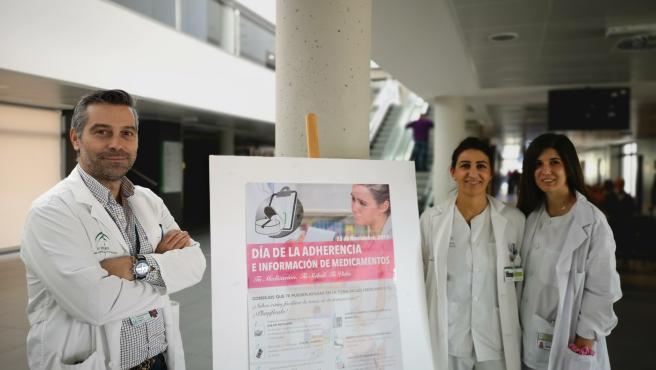 La Unidad de Farmacia del Área Sanitaria Serranía de Málaga se suma al 'Día de la Adherencia'