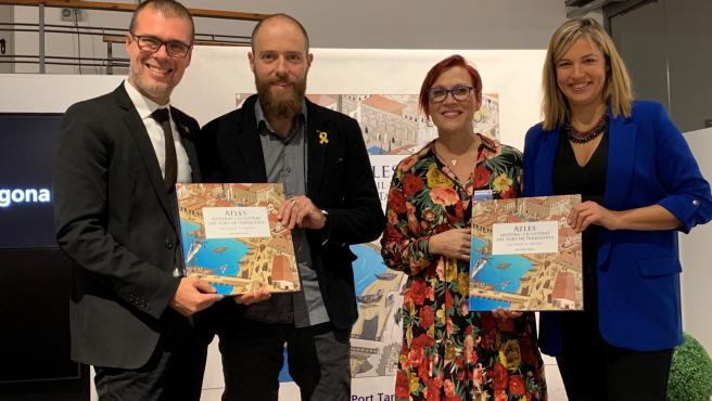 Presentación del 'Atlas Histórico Ilustrado del Puerto de Tarragona. Del pasado al presente'