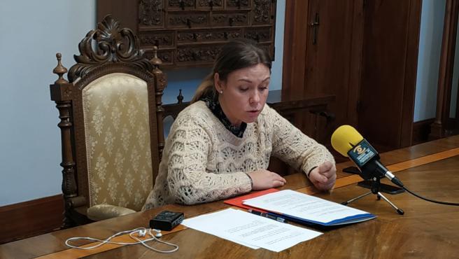 Rueda de prensa tras la Junta de Gobierno de la Diputación de Lugo.