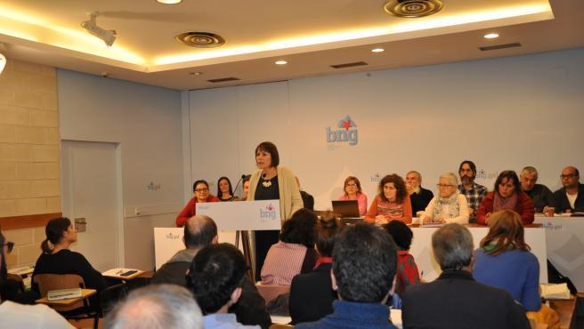 El Consello Nacional del BNG en Santiago