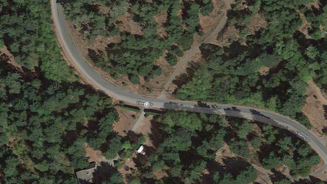 Ubicación captada por un satélite de Google y cuya imagen ha sorprendido a los propios gestores de Maps.