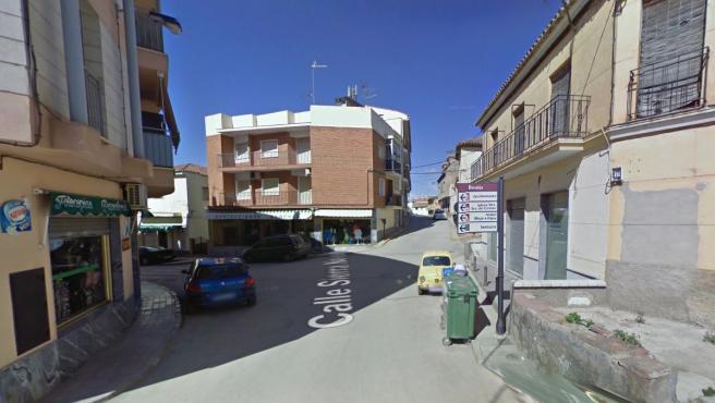Imagen de archivo de la calle Sierra Nevada, en Benalúa (Granada).