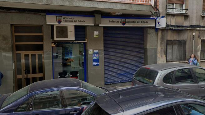 Administración de Loterías de Santa Coloma de Gramenet (Barcelona).