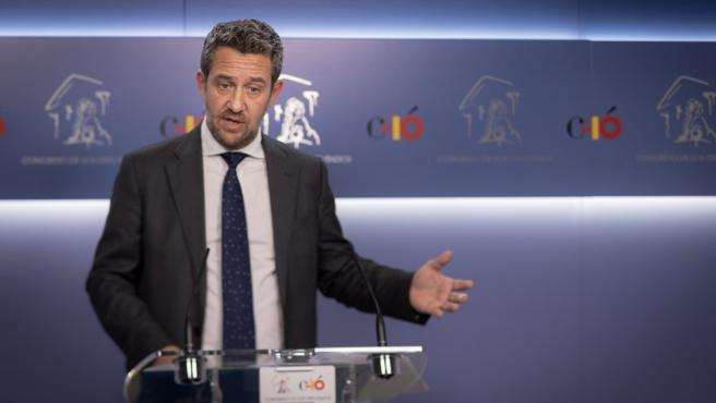 El portavoz adjunto del PP en el Congreso Jaime de Olano