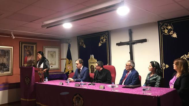 El pregón de Dolores Galán abre la festividad de Santa Catalina, copatrona de Jaén.