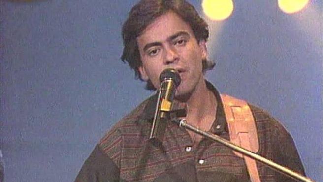 El cantante Enrique Urquijo.