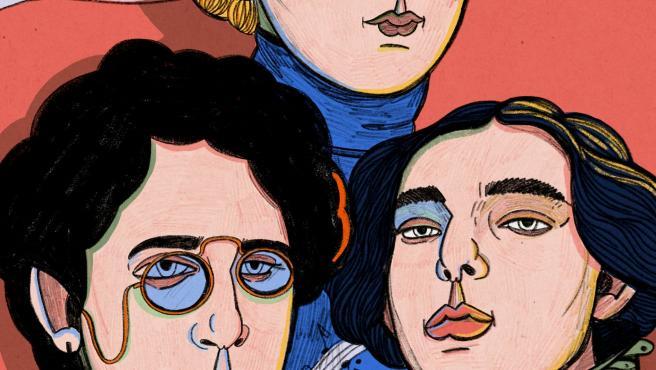 Las ilustraciones de Carla Fuentes, rostro a rostro, acompañan la investigación divulgativa de la catedrática de conservatorio Raquel Lacruz, que perfila a cada una de las compositoras