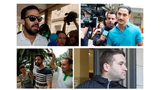 Los cuatro miembros de La Manada acusados