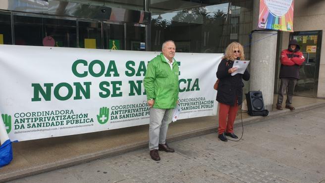 Manifestación contra la privatización de la sanidad en A Coruña