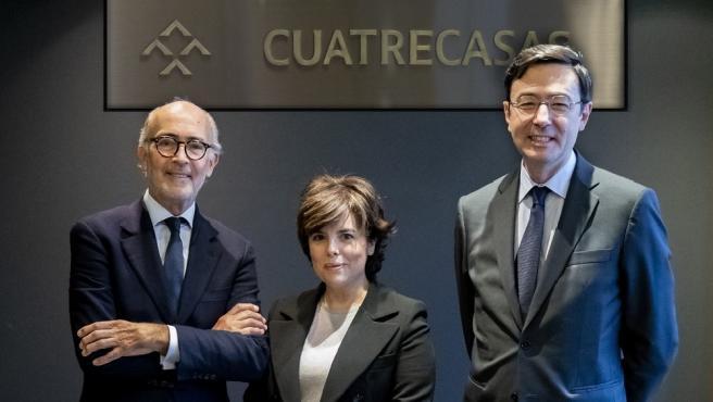 La exvicepresidenta del Gobierno, Soraya Sáenz de Santamaría, forma parte del consejo de administración de Cuatrecasas.