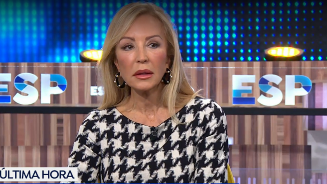 Carmen Lomana en el programa 'Espejo Público'