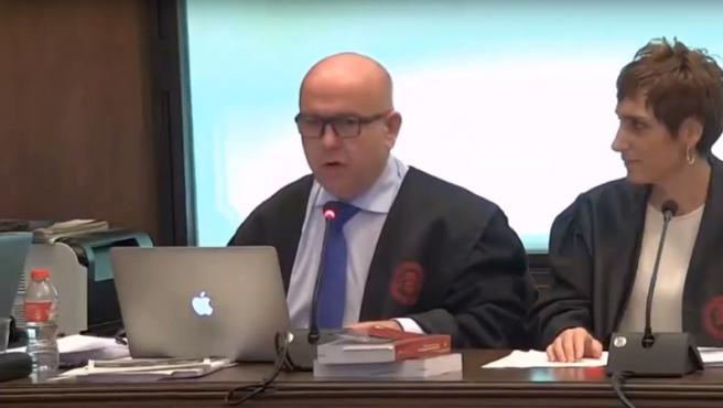 Gonzalo Boye, abogado de Quim Torra, durante el juicio.